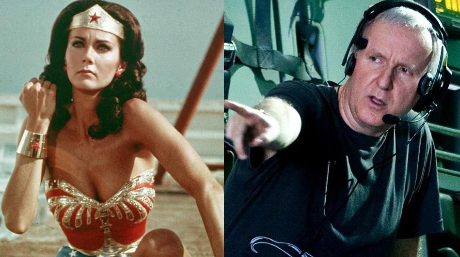 Lynda Carter e James Cameron su Wonder Woman