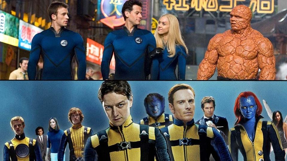 X-Men e i Fantastici 4