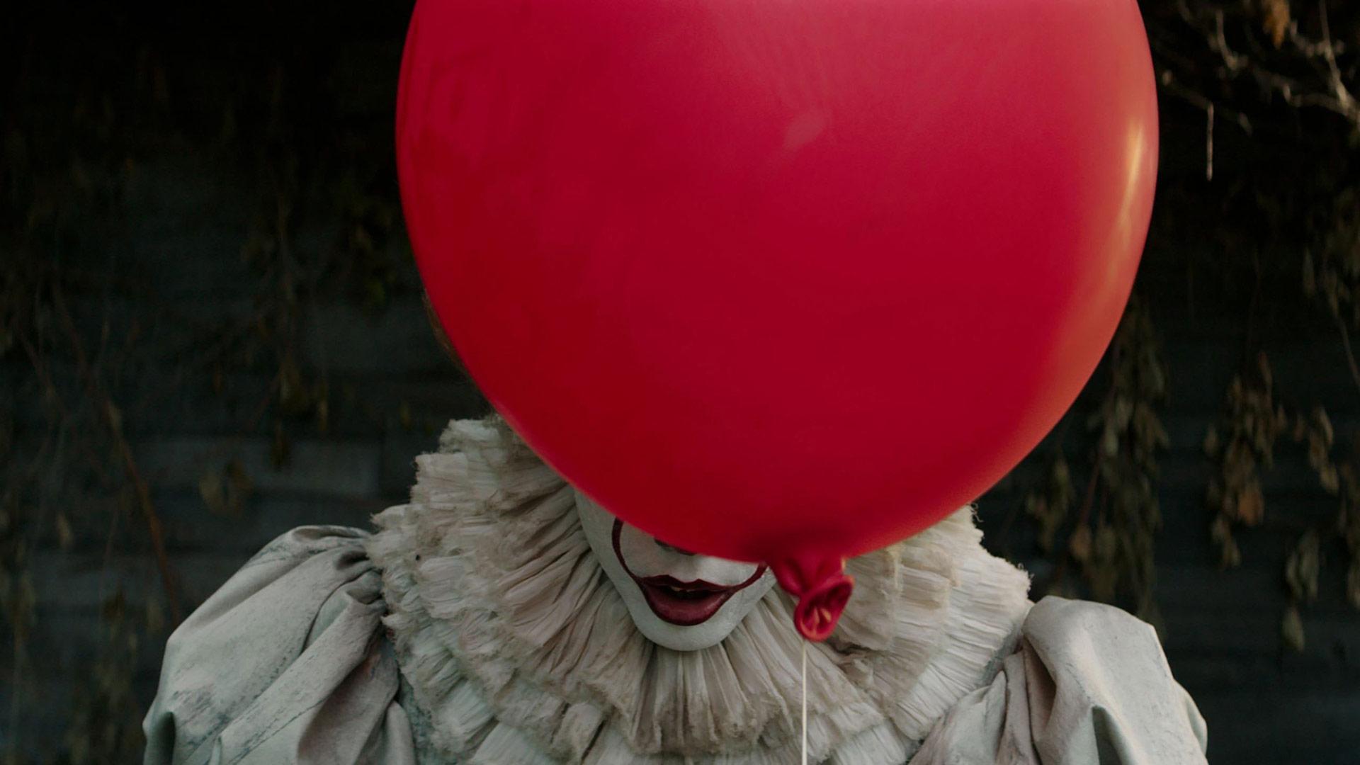 Il clown assassino in It, versione 2018