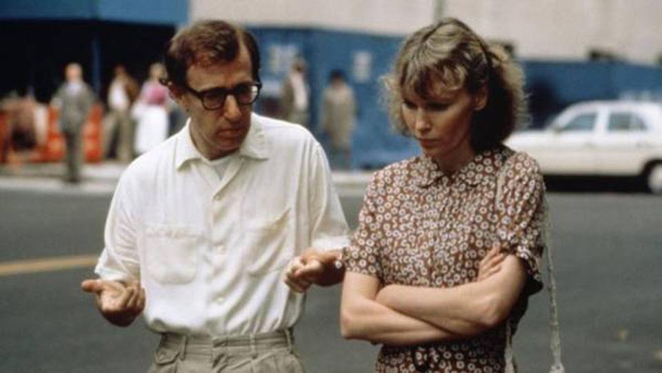 Woody Allen e Mia Farrow