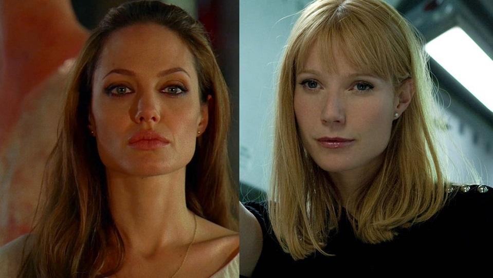 Angelina Jolie e Gwyneth Paltrow