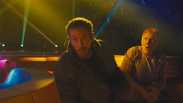 Ford dà un pugno a Gosling sul set di Blade Runner 2049