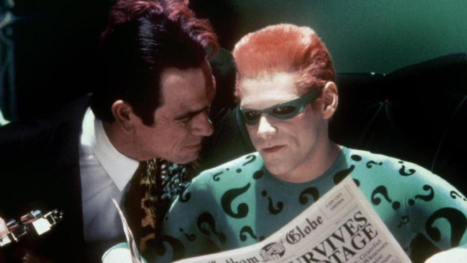 Jim Carrey e Tommy Lee Jones