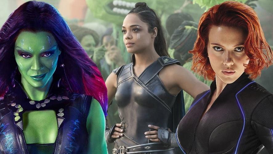 Le supereroine della Marvel