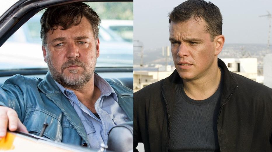 Matt Damon e Rusell Crowe