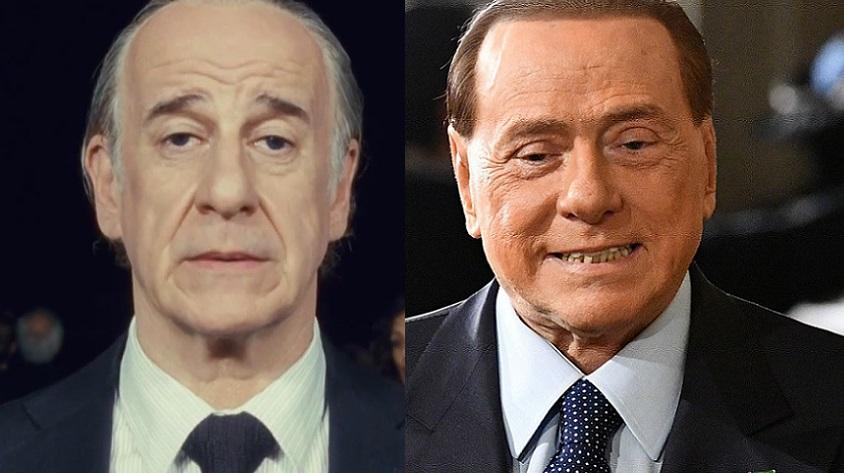 Toni Servillo e Silvio Berlusconi