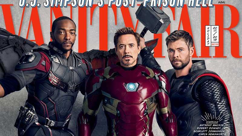 Gli Avengers sulle cover di Vanity Fair