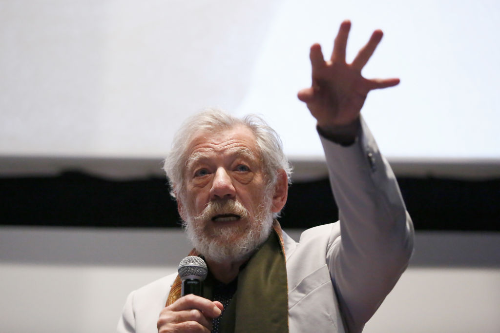 Ian McKellen alla Festa di Roma