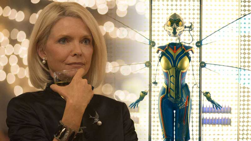 Michelle Pfeiffer irriconoscibile su set di Ant-Man and The Wasp