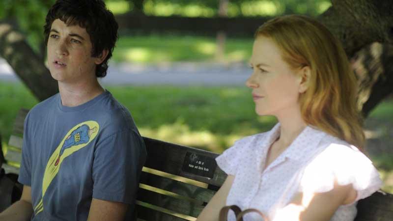 Miles Teller e Nicole Kidman in Rabbit Hole