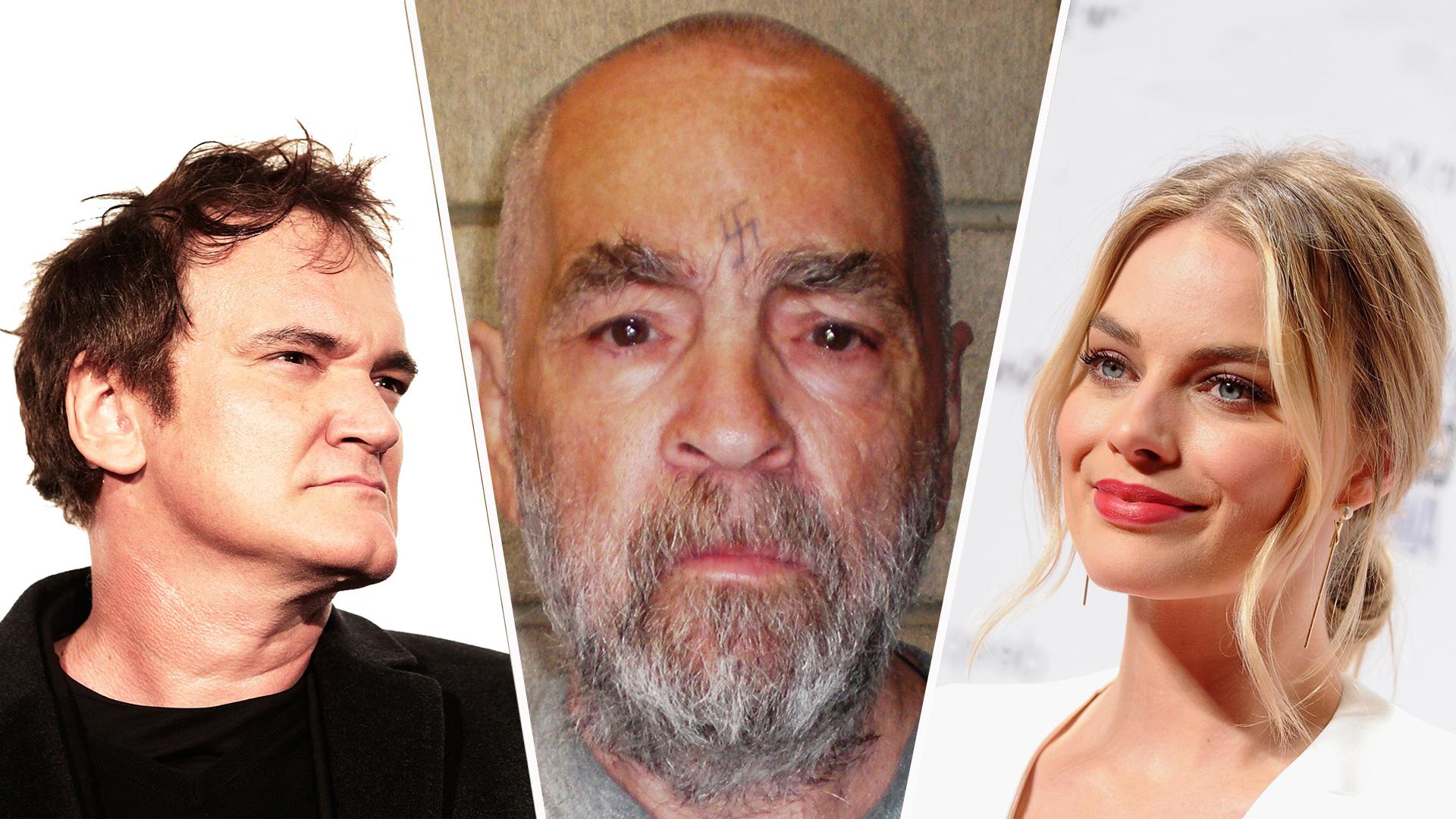 Quentin Tarantino, Charles Manson, Margot Robbie