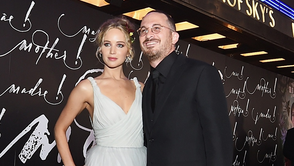 Jennifer Lawrence e Darren Aronofsky