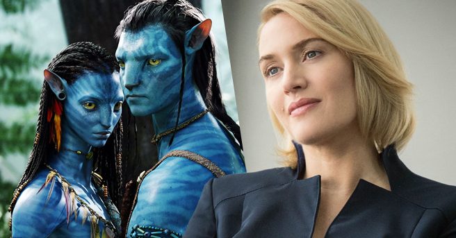 Kate Winslet in Avatar 2
