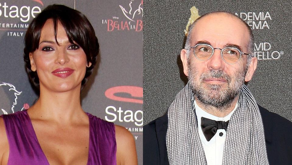 Miriana Trevisan e Giuseppe Tornatore