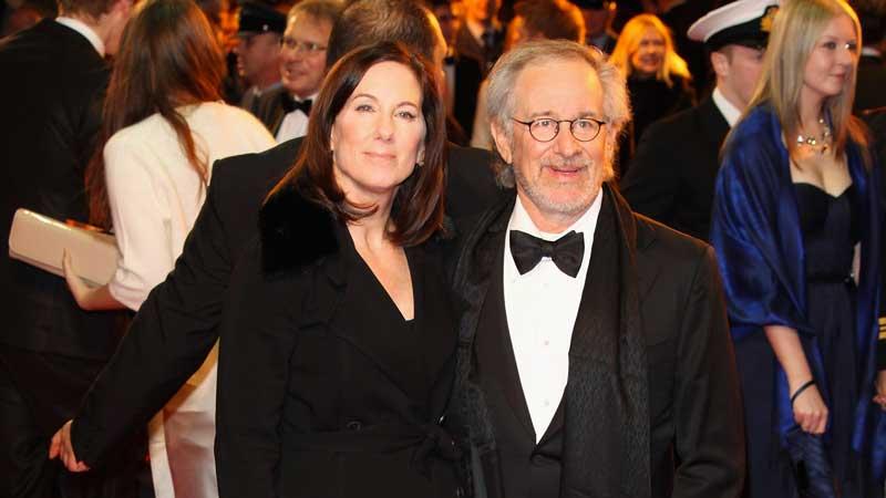 Steven Spielberg e Kathleen Kennedy