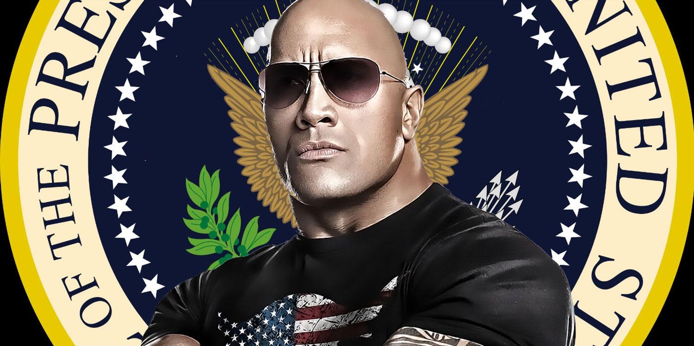 The Rock alla Casa Bianca