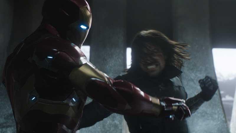 Sebastian Stan dal set di Avengers 4