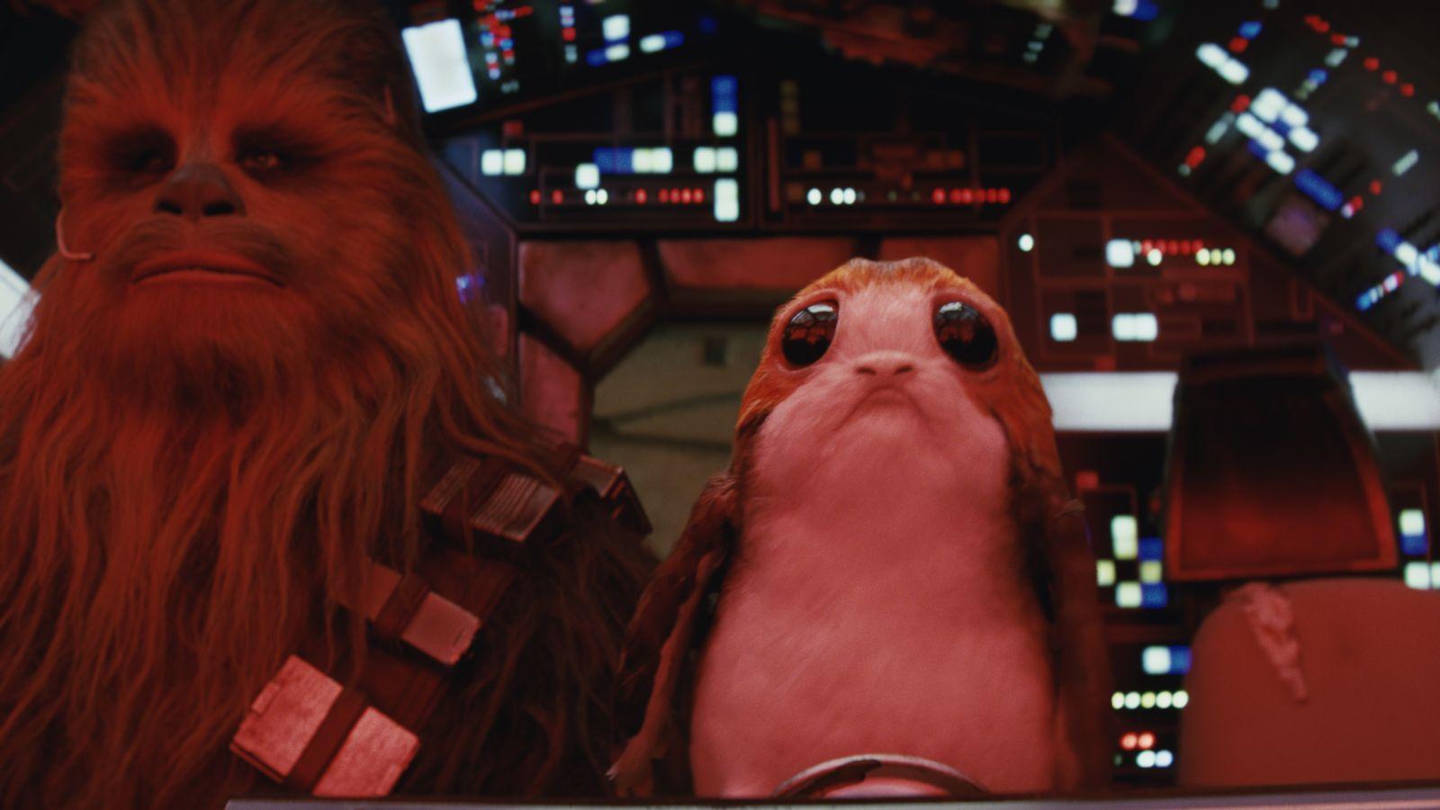 I Porgs tra i protagonisti di Star Wars: Gli Ultimi Jedi