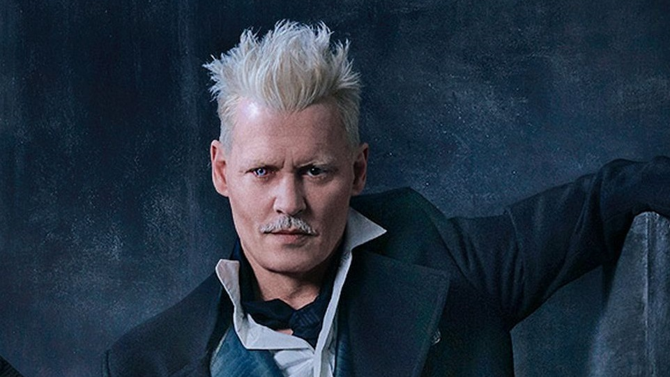 Johnny Depp in Animali fantastici: I Crimini di Grindelwald