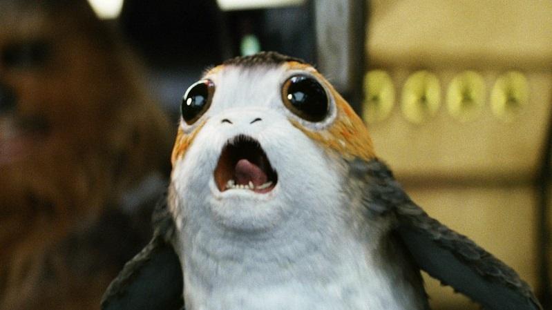 I Porgs di Star Wars: Gli ultimi Jedi