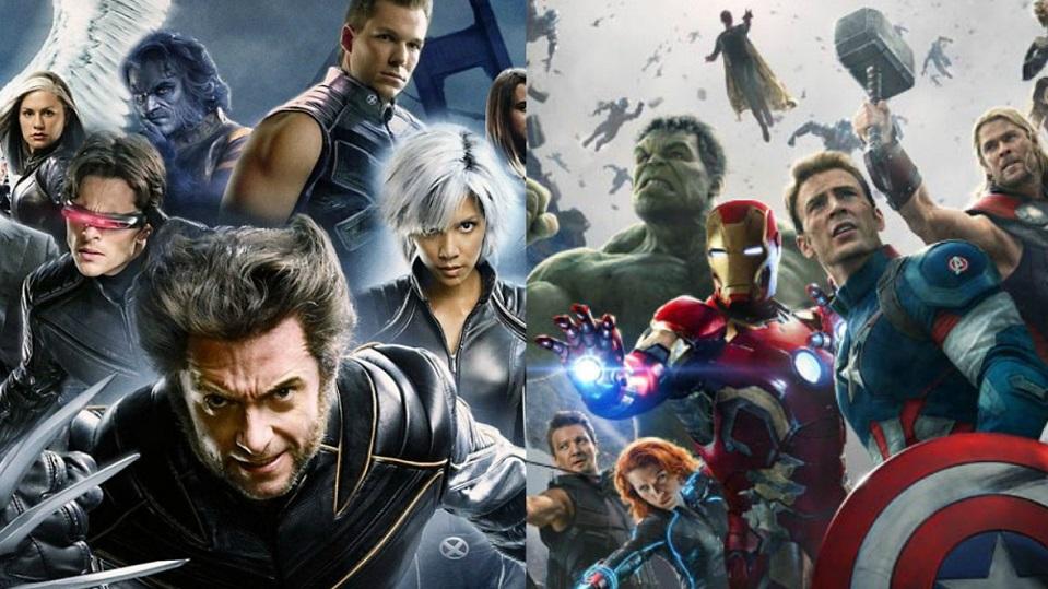 X-Men e Avengers