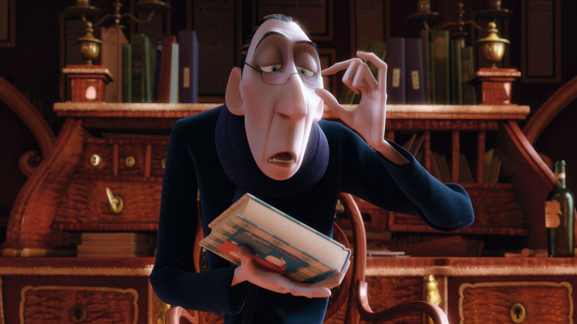 Anton Ego in Ratatouille