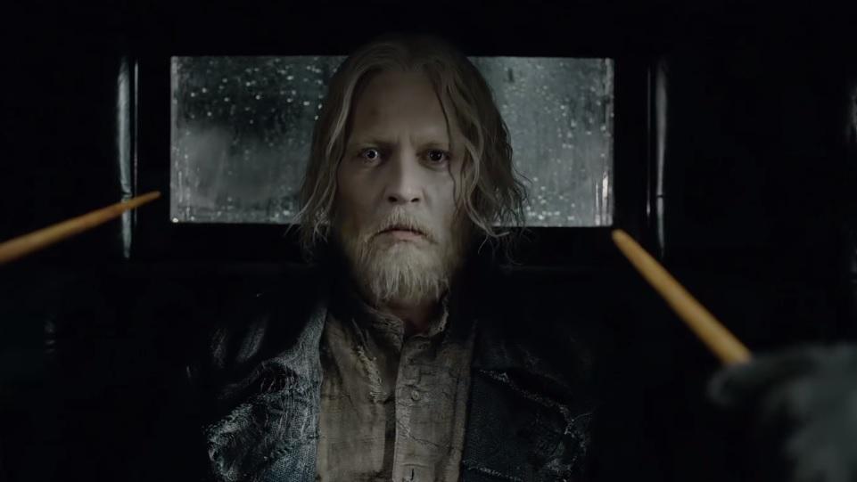Animali fantastici: I Crimini di Grindelwald, Johnny Depp