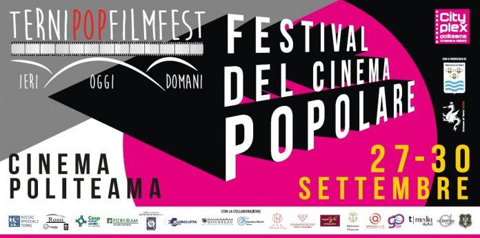 Il manifesto del primo Terni Pop Film Fest