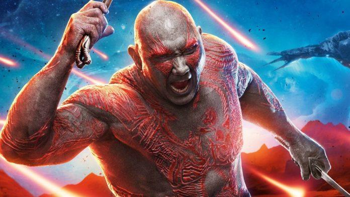 Dave Bautista è Drax in Guardiani della Galassia