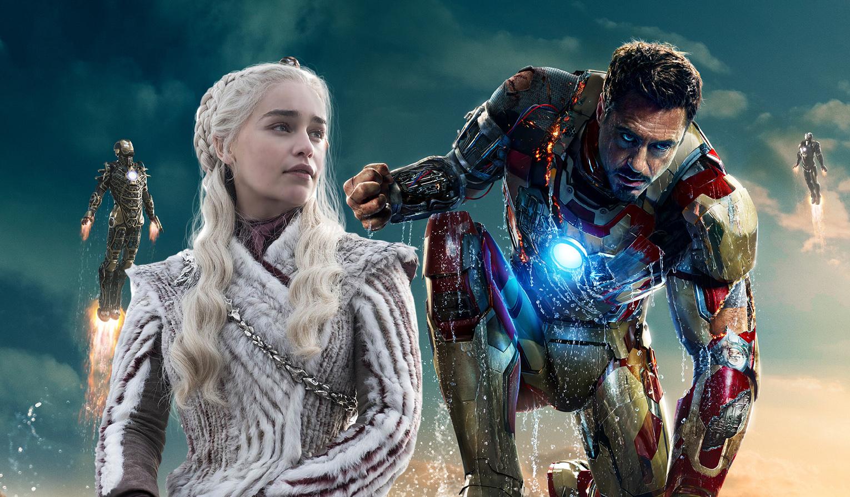 Emilia Clarke was also the part of Iron Man 3 cast