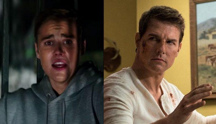 Justin Bieber e Tom Cruise