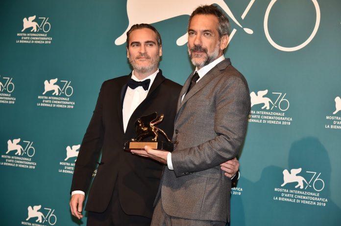 Joaquin Phoenix e Todd Phillips col Leone d'oro a Venezia 76