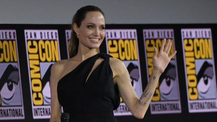 Marvel Angelina Jolie Eternals