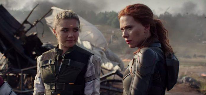 Florence Pugh Scarlett Johansson Black Widow