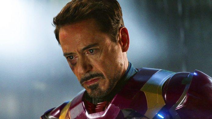 Tony Stark Iron Man Robert Downey Jr.