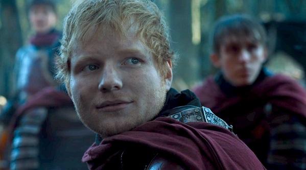 Ed Sheeran trono di spade cameo