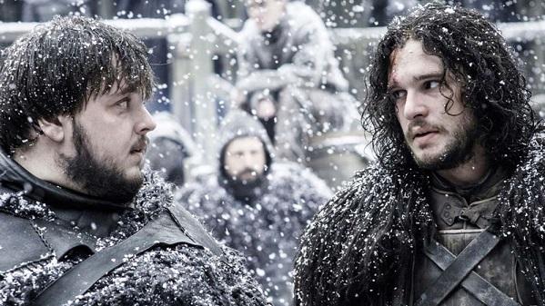 il trono di spade jon snow e i suoi alleati nella barriera