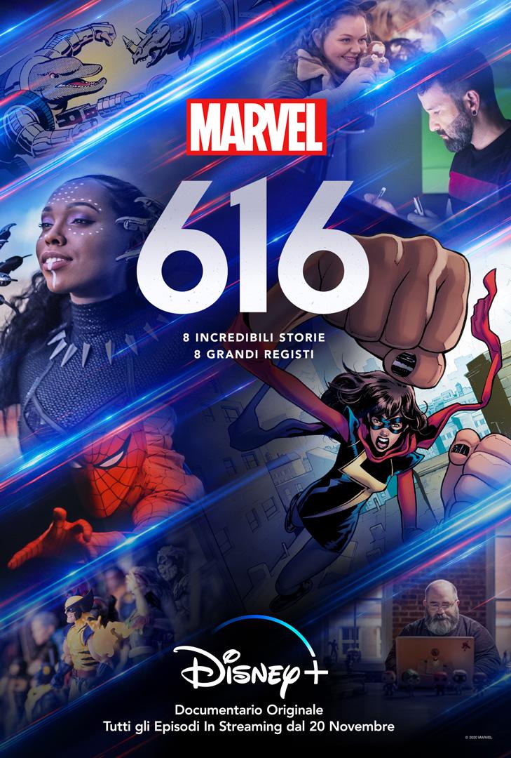 marvel 616 poster