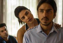 Un'immagine di Priyanka Chopra in La tigre bianca, ora su Netflix