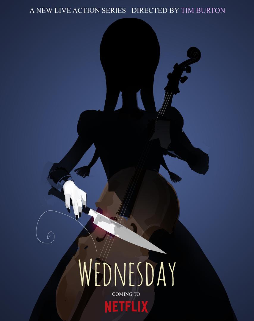Wednesday Tim Burton