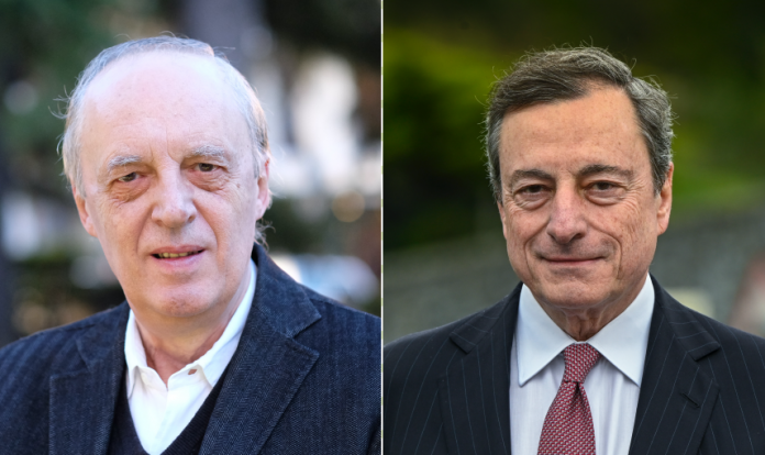 Dario Argento Mario Draghi