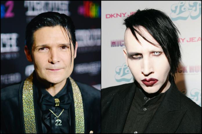 Corey Feldman Marilyn Manson