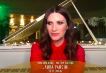 Laura Pausini Golden Globes 2021