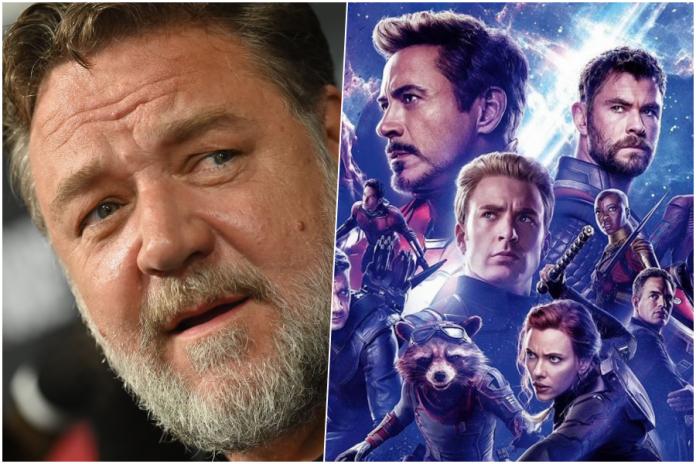 Russell Crowe Avengers: Endgame