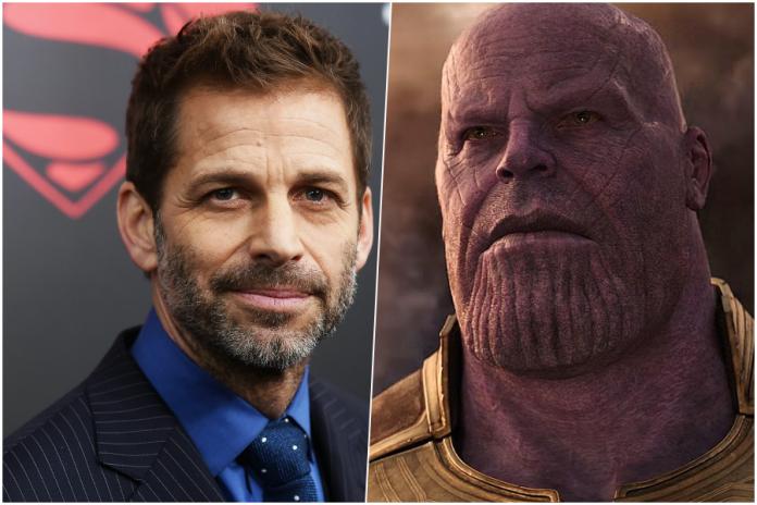 Zack Snyder Avengers: Endgame