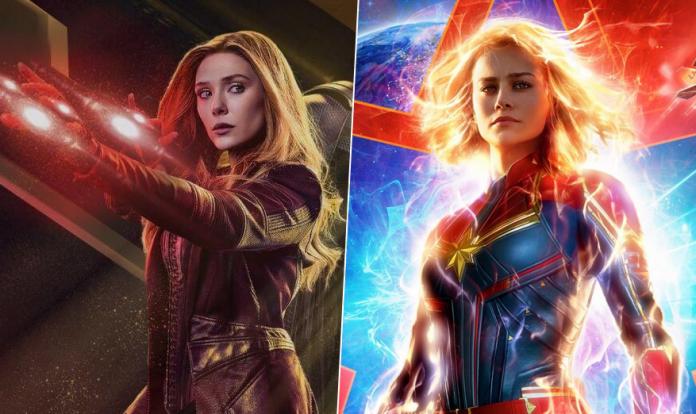 WandaVision Captain Marvel