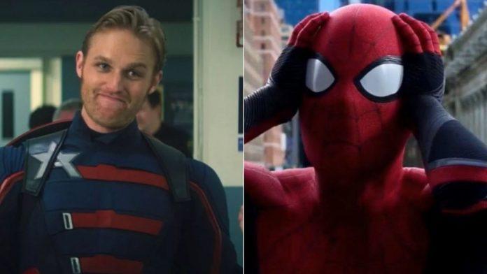 captain america spiderman