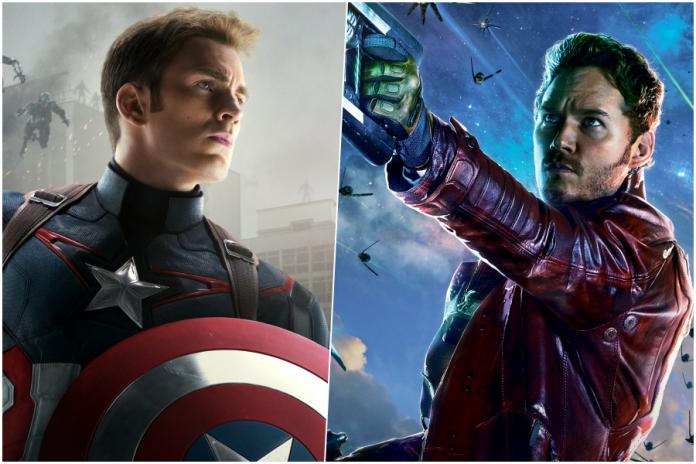 Captain America Peter Quill