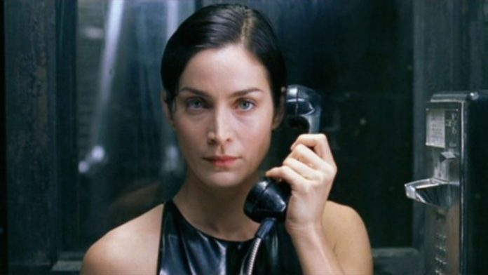 carrie ann moss in matrix