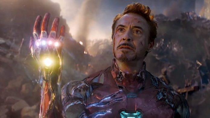 robert downey jr condivide un backstage di endgame Iron Man